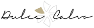 Firma con el logo dulce calvo